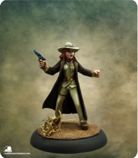 Savage Worlds: Deadlands - Texas Ranger (Female) (painted by Martin Jones)