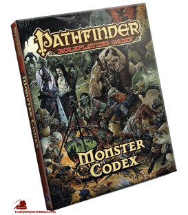 Pathfinder RPG: Monster Codex (HC)