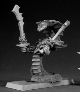 Warlord: Reptus - Tasanee, Nagendra Venomspitter Hero
