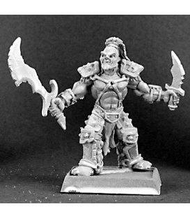 Warlord: Reven - Dantral, Half-Orc Captain