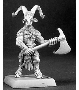 Warlord: Reven - Beastman Woodcutter