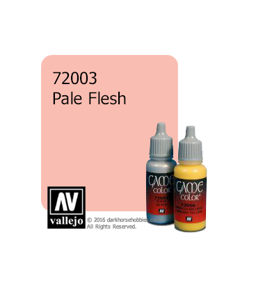 Vallejo Game Color: Acrylic Paint - Pale Flesh (17ml)
