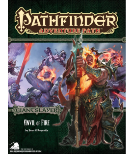 Pathfinder RPG Adventure: Anvil of Fire (Giantslayer 5 of 6)