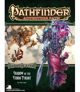 Pathfinder RPG Adventure: Shadow of the Storm Tyrant (Giantslayer 6 of 6)