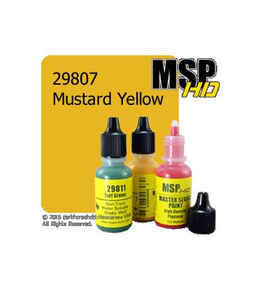 Master Series Paint: HD Colors - 29807 Mustard Yellow (1/2 oz)