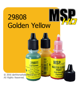 Master Series Paint: HD Colors - 29808 Golden Yellow (1/2 oz)