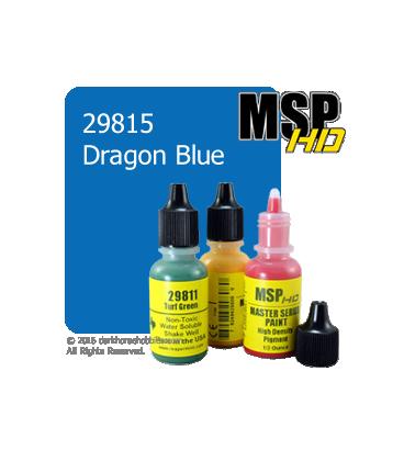 Master Series Paint: HD Colors - 29815 Dragon Blue (1/2 oz)