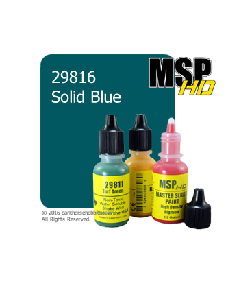 Master Series Paint: HD Colors - 29816 Solid Blue (1/2 oz)