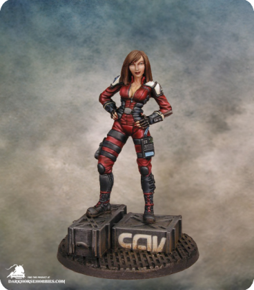 Dana Murphy (72mm) (painted by Liliana Troy)