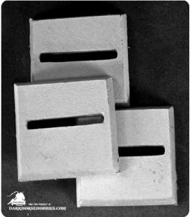 Reaper Miniatures: 25mm Square Horizontal Slotted Bases Pack
