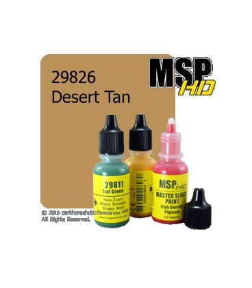 Master Series Paint: HD Colors - 29826 Desert Tan (1/2 oz)