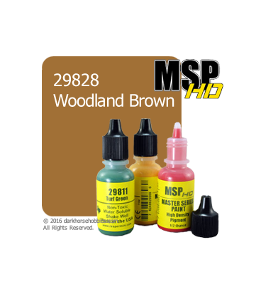 Master Series Paint: HD Colors - 29828 Woodland Brown (1/2 oz)