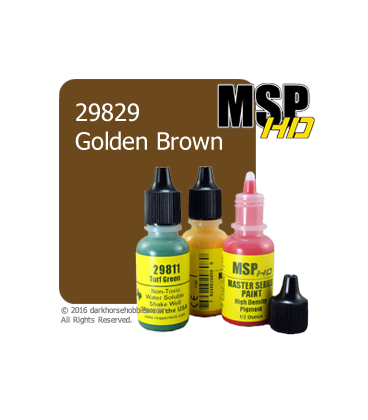 Master Series Paint: HD Colors - 29829 Golden Brown (1/2 oz)