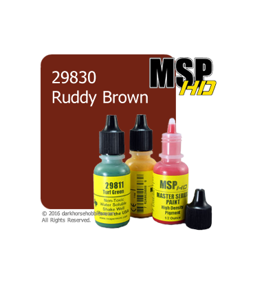 Master Series Paint: HD Colors - 29830 Ruddy Brown (1/2 oz)