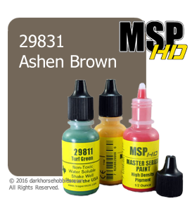 Master Series Paint: HD Colors - 29831 Ashen Brown (1/2 oz)