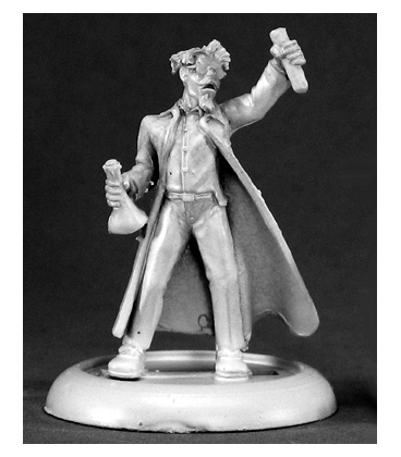Chronoscope (Super Villains): Dr. Ervin Friedman, Mad Scientist (unpainted)