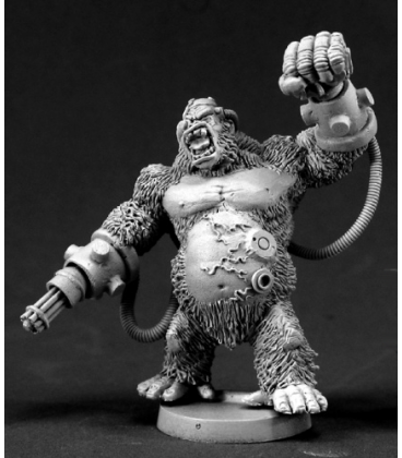 Chronoscope (Super Villains): Ape-X. Supervillian (unpainted)