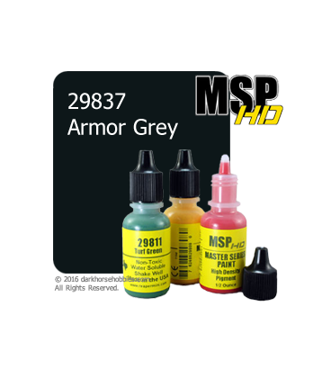 Master Series Paint: HD Colors - 29837 Armor Grey (1/2 oz)