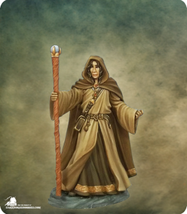Visions in Fantasy: Young Traveling Mage (painted by Jessica Rich)