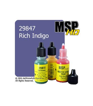 Master Series Paint: HD Colors - 29847 Rich Indigo (1/2 oz)