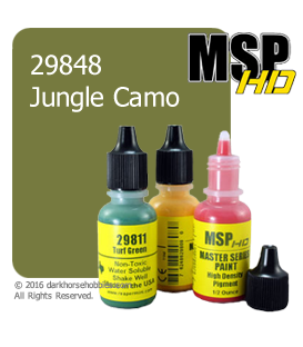Master Series Paint: HD Colors - 29848 Jungle Camo (1/2 oz)