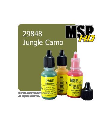 Master Series Paint: HD Colors - 29848 Jungle Camo (1/2 oz)