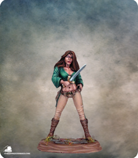 Elmore Masterworks: Female Thief (painted by Matt Verzani)
