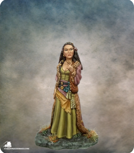 Elmore Masterworks: Female Shaman (painted by Jessica Rich)