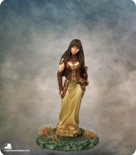 Elmore Masterworks: Female Rogue (painted by Jessica Rich)