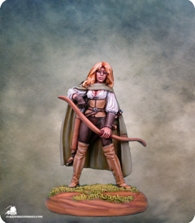 Elmore Masterworks: Female Archer (painted by Matt Verzani)