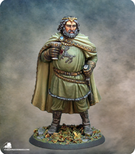 Game of Thrones: Fat King Robert Baratheon (painted by Jennifer Haley)