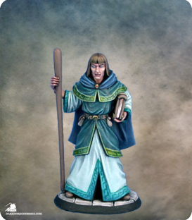 Easley Masterworks: Male Mage (painted by Matt Verzani)