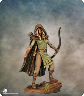 Easley Masterworks: Female Ranger (painted by Matt Verzani)