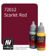 Vallejo Game Color: Acrylic Paint - Scarlet Red (17ml)