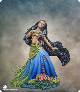 Stephanie Law Masterworks: Muse - Erato (painted by Jessica Rich)