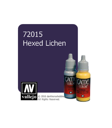 Vallejo Game Color: Acrylic Paint - Hexed Lichen (17ml)