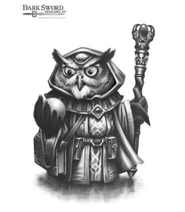 Critter Kingdoms: Owl Mage (artwork)