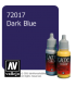 Vallejo Game Color: Acrylic Paint - Dark Blue (17ml)