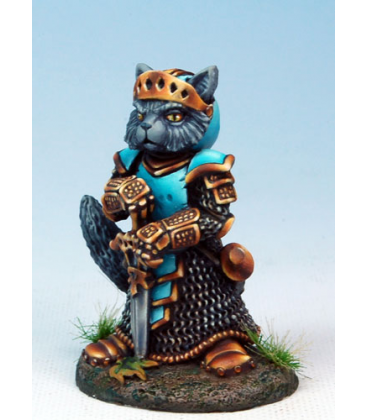 Critter Kingdoms: Nom - Cat Paladin (painted by Marike Reimer)