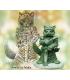 Critter Kingdoms: Nom - Cat Paladin (master sculpt by Dave Summers)