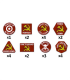 Team Yankee: Soviet Token Set