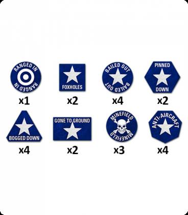 Team Yankee: USA Token Set