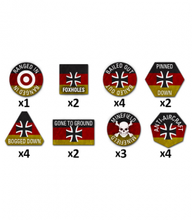 Team Yankee: West German Token Set