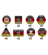 Team Yankee: West German Token Set