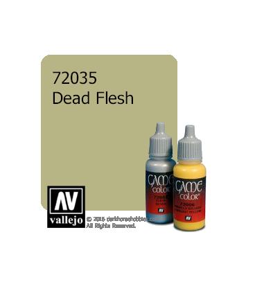 Vallejo Game Color: Acrylic Paint - Dead Flesh (17ml)