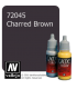 Vallejo Game Color: Acrylic Paint - Charred Brown (17ml)