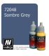 Vallejo Game Color: Acrylic Paint - Sombre Grey (17ml)
