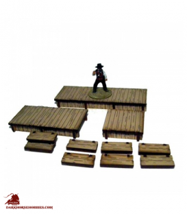 Dead Man's Hand: (Add-on) Boardwalks