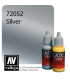 Vallejo Game Color: Acrylic Paint - Silver (17ml)