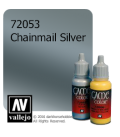 Vallejo Game Color: Acrylic Paint - Chainmail Silver (17ml)